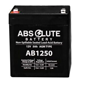 NEW NEW AB1250 12V 5AH Trailer Break Away Kit Battery