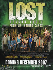 Lost Season 3 Ultra Master Set Autographs Costumes Pieceworks Redemptions Bonus