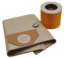 20 Staubsaugerbeutel + Filter geeignet für Kärcher 6.959-130, A 2201 WD 3200 usw