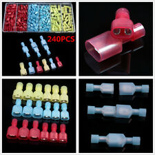 240in1 Full Insulated Car T-Type Electrical Crimp Wire Connector Terminals & Box