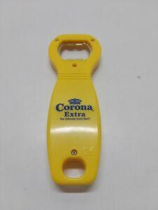Corona Extra Beer Advertising Yellow Acrylic Bottle Opener