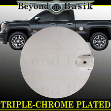 2014 2015 2016 2017 Silverado 1500 2500 3500 ABS Chrome Fuel Gas Door Cover Trim