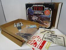 X-Wing Battle Damaged 1978 STAR WARS Complete Original Vintage WORKING Inserts