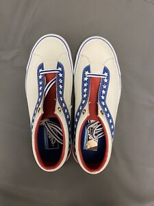 Vans Men's EVEL KNIEVEL Leather Skateboard Shoes M 8/ W 9.5 NEW 721278
