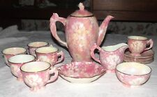 Royal Winton Grimwades Mottled Pink Coffee Set - 17 Pieces - England