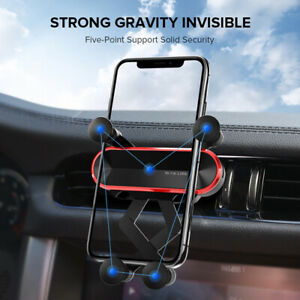 Gravity Invisible Car Phone Holder Air Vent Mount Stand For iPhone  Samsung GPS