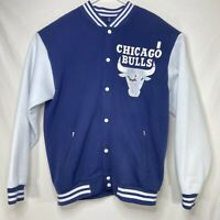 Chicago Bulls Vintage 90s Bootleg Bomber Jacket Faded Graphic XXL