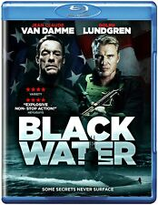 Black Water Jean Claude Van Damme Dolph Lundgren New (Blu-ray  2018)