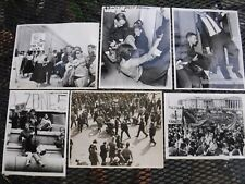ATOMIC NUCLEAR EXPLOSION PROTESTS-DATED 1962 WITH PRESS CREDENTIALS-VIETNAM ALSO
