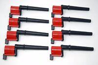 REV Ignition 8 High Output Ford DG543 Ignition Coils 4.6 5.4 5.8 DOHC & Superchg