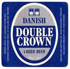 Danish Beer Label - Ceres Brewery - Denmark - Danish Double Crown Lager