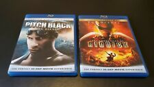 The Chronicles of Riddick Complete Collection Blu-ray