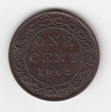 1902 Canada One Large Cent