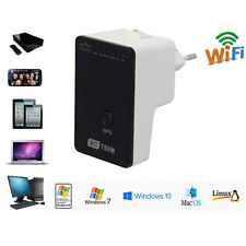 750Mbps Wifi Signal Repeater Booster Dual-Band 2.4+5 Wireless Network WPS Router