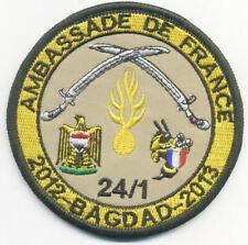 GENDARMERIE / AMBASSADE DE FRANCE BAGDAD 2012 2013 - 24/1
