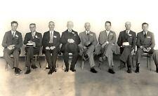 1934 -Charles Lindbergh-Orville Wright-at Natl. Advisory Committee Aeronautics
