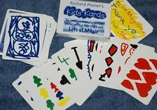Kidz Kardz -crayon deck to normal deck! -colorful whimsical card magic Tmgs