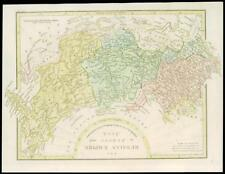1801 Antique Map RUSSIA RUSSIAN EMPIRE IN EUROPE & ASIA Wilkinson (GC3/64)