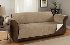 Furniture Fresh Anti-Slip Grip Couch Furniture Protector Microsuede SOFA NATURAL