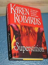 Superstition by Karen Robards HCDJ BCE FREE SHIPPING 0399152806