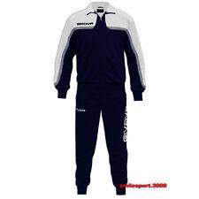 Tuta Givova Africa Royal/blu Palestra Calcio tempo libero Ragazzo Uomo Unisex XL