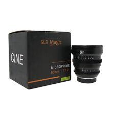 SLR Magic MicroPrime Cine 50mm T1.2 Full Frame Lente per Sony-E Mount MacChina Fotografica, a7
