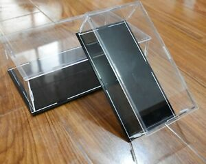 Acrylic Large Clear Car Display Case Box Organizer Dust Proof Scene Prop Toy