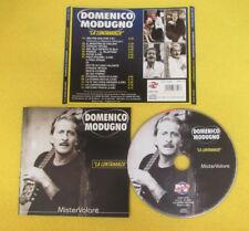 CD DOMENICO MODUGNO La Lontananza 2004 Ita D.V. MORE RECORD no lp dvd mc (CI1)