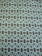 Harlequin Scion 'Lace' Fabric Buy Per Metre. Powder blue grey gull