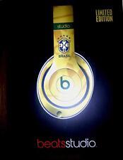 ca1fb85bcfd Beats By Dr. Dre Limited Edition Brasil (Brazil) CBF Headphones - YELLOW -