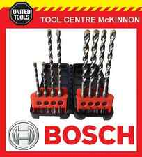 BOSCH 8pce SDS PLUS MASONARY DRILL SET IN CASE