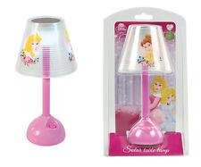 Disney Solar Tischlampe / Motiv: Princess / 6 LEDs / Keine Batterien nötig!