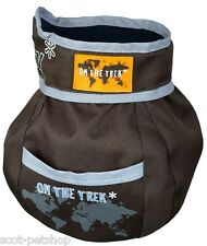 Dog Activity Snack bag On the Trek, ø 11 × 16 cm, brown