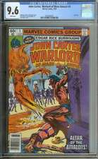 JOHN CARTER, WARLORD OF MARS ANNUAL #3 CGC 9.6 WHITE PAGES