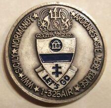 82nd Airborne 325th Regt 1st BN Army Challenge Coin