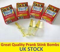 Practical Joke Stink Bombs Kids Novelty Prank Fart Smelly Rotten Egg Tricks Toy