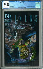 Aliens #1 CGC 9.8 NM/MT WP 5/88 1988 Dark Horse Comics 1st Aliens Mark Nelson