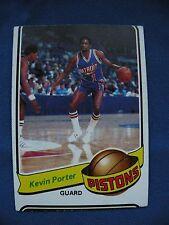 1979-80 Topps Kevin Porter Pistons card #13 $1 S&H NBA Basketball filler card