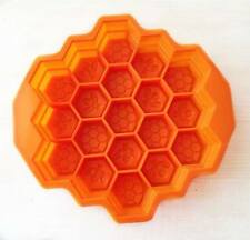 Honey Bee Comb Silicon Soap Chocolate Jelly Mold Molder