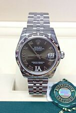 Rolex Datejust Lady 31mm 178344 Diamond Bezel With Papers