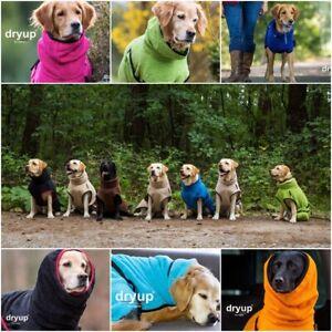 Dryup Cape Hundebademantel - verschiedene Farben - Größen: XS bis XL