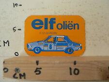 STICKER,DECAL ELF r12 gordini   OLIEN RACE CAR NO 6