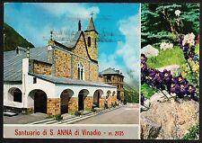 AD0730 Cuneo - Provincia - Sant'Anna di Vinadio - Santuario - Vedute