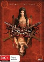 Reign Complete Third Season 3 Three DVD NEW Region 4
