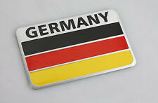 Metal Emblems Badge Decal Car Front Side Bumper Logo Sticker German Flag USA