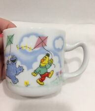 Sesame Street Mug Porcelain Hot Chocolate Flying A Kite EUC