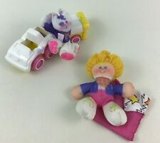 Smooshees Kathy and Kittycamp Playset #7280 100% Complete Fisher Price 1988