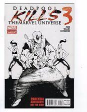 Deadpool Kills The Marvel Universe # 3 2nd Print Sketch Variant Cover