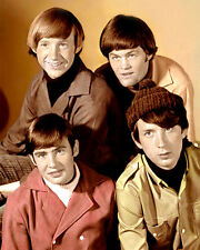 "THE MONKEES AMERICAN POP ROCK BAND ACTORS 8x10"" HAND COLOR TINTED PHOTO"