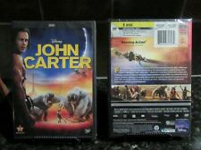 John Carter (DVD, 2012,)   Disney     NEW/SEALED    FREE SHIPPING